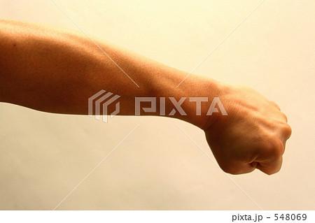 左腕の写真素材 - PIXTA