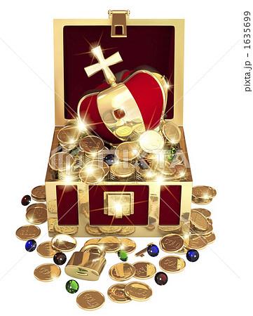 宝の箱のイラスト素材 [1635699]...