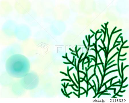 海藻 イラスト しずく ドットのイラスト素材 Pixta