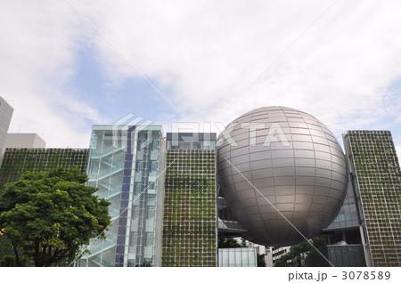 プラネタリウム 名古屋市 愛知県 建物 銀色の写真素材 , PIXTA