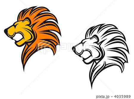 ライオン 動物園 横顔 たてがみのイラスト素材を検索中(37件中1件 , 37件を表示)