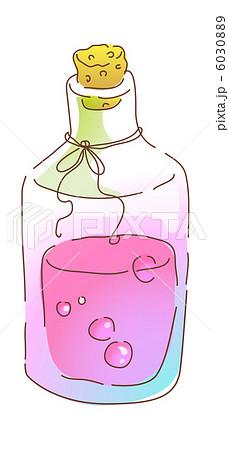 瓶 ガラス瓶 コルク瓶 ガラス アイコンのイラスト素材 Pixta