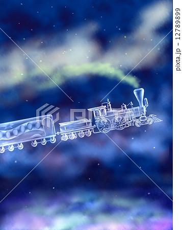 銀河鉄道のイラスト素材 Pixta