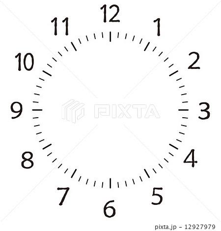 刻度盘面插图素材 Pixta