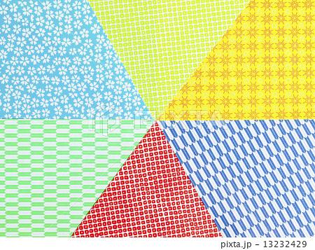 ハート 折り紙 折り紙 模様 : pixta.jp