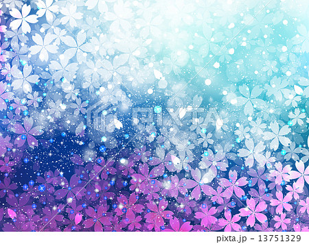 5ページ目 風景 背景 春 イラスト 光 きれい 花びら 背景イラスト