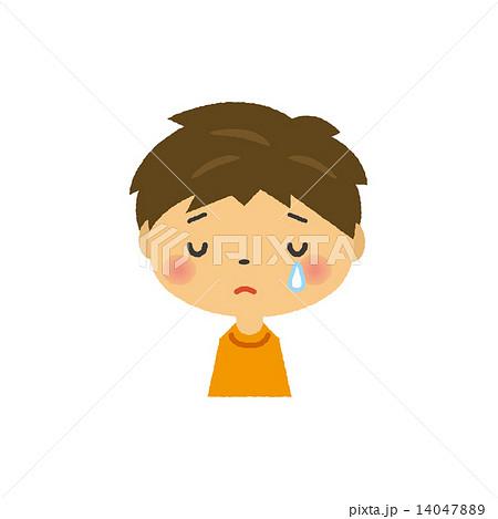泣き顔のイラスト素材 Pixta