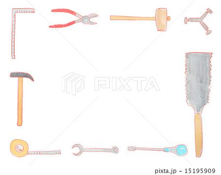 大工道具のイラスト素材 Pixta