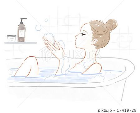 入浴剤のイラスト素材 Pixta
