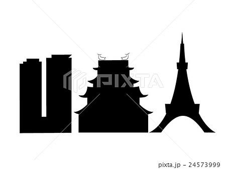 Special Night 東京タワーと夜景とビルと鳥瞰とテレビ塔のイラスト
