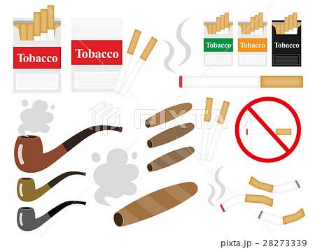 葉巻きタバコのイラスト素材 - PIXTA