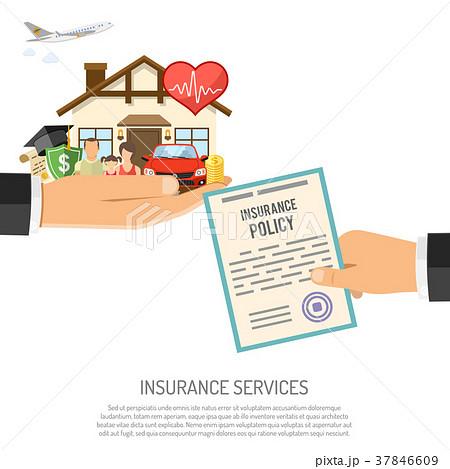 Life Insurance Illustrations Pixta
