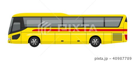 高速バスのイラスト素材 Pixta