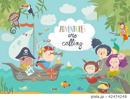 海賊のイラスト素材 Pixta