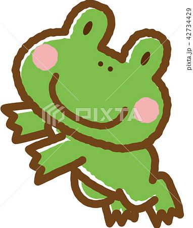 カエル蛙のイラスト素材集 Pixtaピクスタ
