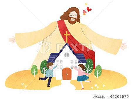 聖域 イラスト 挿絵 キリスト教のイラスト素材 Pixta
