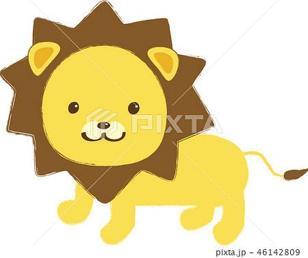 ライオンのイラスト素材集 Pixtaピクスタ