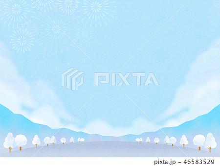 雪山のイラスト素材集 Pixtaピクスタ